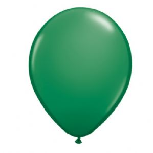 "16"" Green Balloons - Qualatex Latex Balloons 